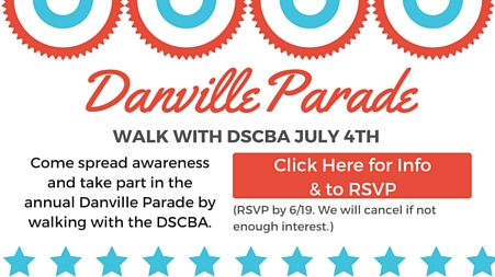 Danville Parade Event Announcement