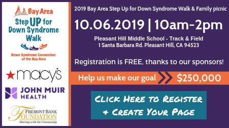 Register for Step UP for Down Syndrome Walk